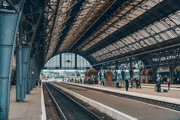 Железнодорожный вокзал Львов