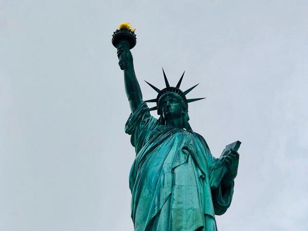Статуя свободы США, Нью-Йорк