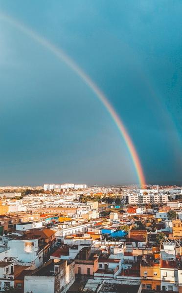 Радуга над Испанией