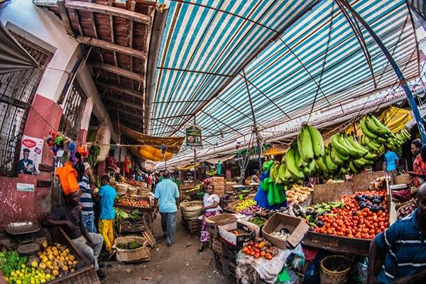 Базар в Кении